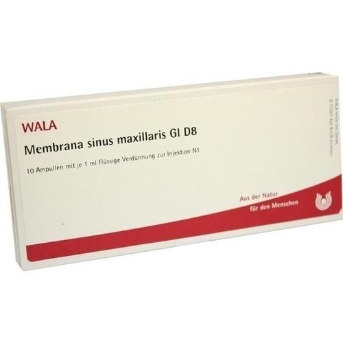 MEMBRANA SINUS MAXI GL D 8, 10X1 ML, Wala Heilmittel GmbH