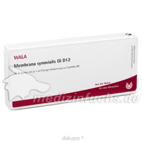 MEMBRANA SYNOVIALIS GL D12, 10X1 ML, Wala Heilmittel GmbH