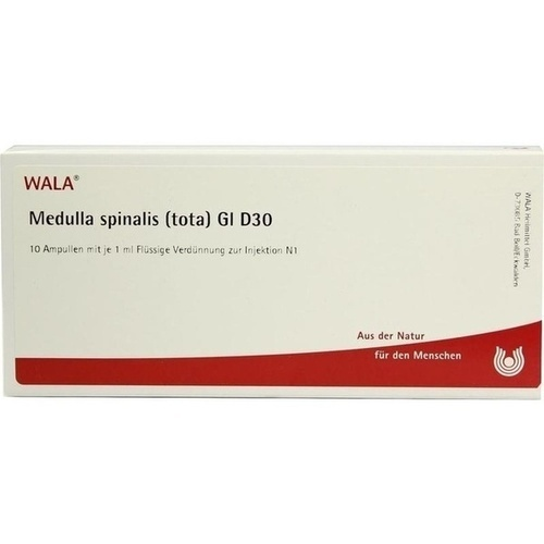 MEDULLA SPINA (TOT) GL D30, 10X1 ML, Wala Heilmittel GmbH