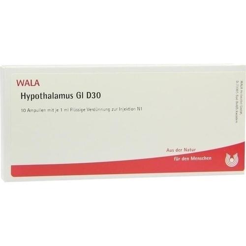 HYPOTHALAMUS GL D30, 10X1 ML, Wala Heilmittel GmbH