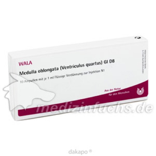MEDULLA OB (VEN QU) GL D 8, 10X1 ML, Wala Heilmittel GmbH