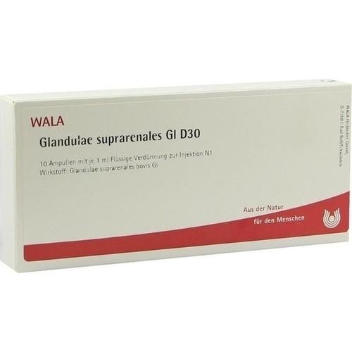 GLANDULAE SUPRAREN GL D30, 10X1 ML, Wala Heilmittel GmbH