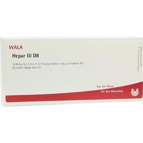 HEPAR GL D 8, 10X1 ML, Wala Heilmittel GmbH