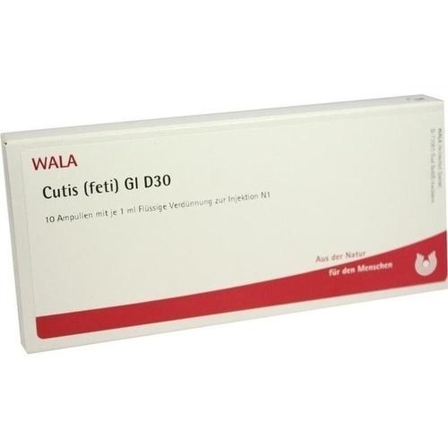 CUTIS (FETI) GL D30, 10X1 ML, Wala Heilmittel GmbH