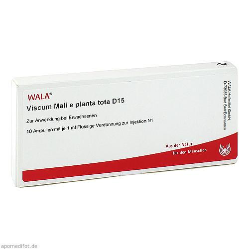 VISCUM MALI E PL TOTA D15, 10X1 ML, Wala Heilmittel GmbH