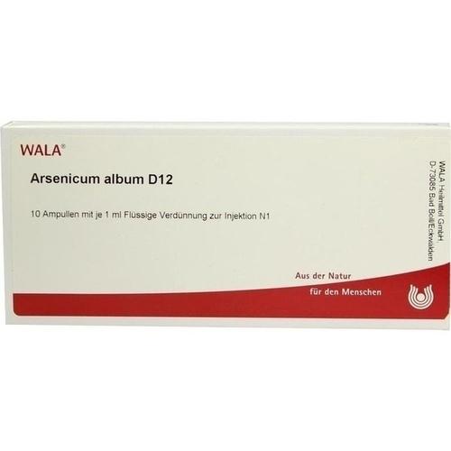 ARSENICUM ALB D12, 10X1 ML, Wala Heilmittel GmbH
