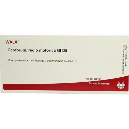 CEREBRUM REGIO MOTO GL D 5, 10X1 ML, Wala Heilmittel GmbH