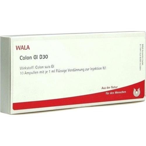 COLON GL D30, 10X1 ML, Wala Heilmittel GmbH