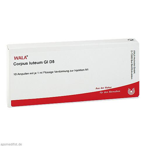 CORPUS LUTEUM GL D 5, 10X1 ML, Wala Heilmittel GmbH
