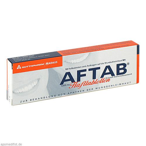 AFTAB Hafttabletten, 10 ST, Meda Pharma GmbH & Co. KG
