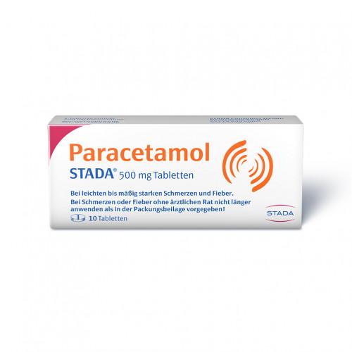 Paracetamol STADA 500mg Tabletten, 10 ST, STADAPHARM GmbH