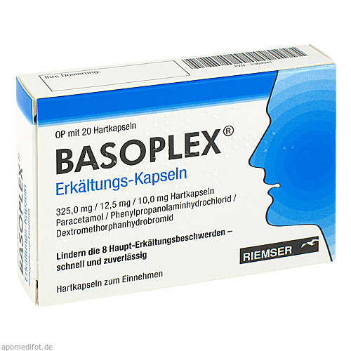 BASOPLEX ERKAELTUNGS KAPS, 20 ST, Abanta Pharma GmbH