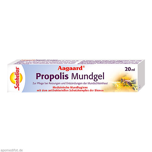 AAGAARD Propolis Mundgel, 20 ML, Börner GmbH