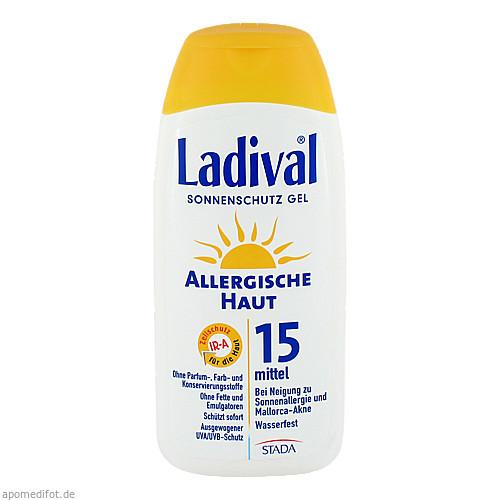 Ladival allerg. Haut Gel LSF15, 200 ML, STADA GmbH