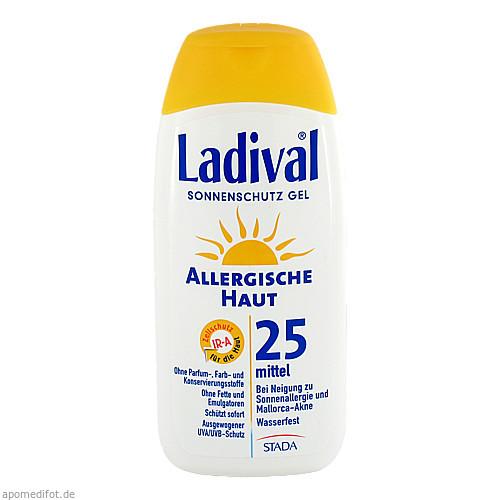 LADIVAL allergische Haut Gel LSF 25, 200 ML, STADA GmbH