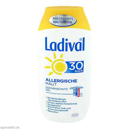 Ladival allerg. Haut Gel LSF30, 200 ML, STADA GmbH