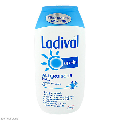 Ladival allerg. Haut Apres Gel, 200 ML, STADA GmbH