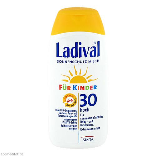 Ladival Kinder Sonnenmilch LSF30, 200 ML, STADA GmbH
