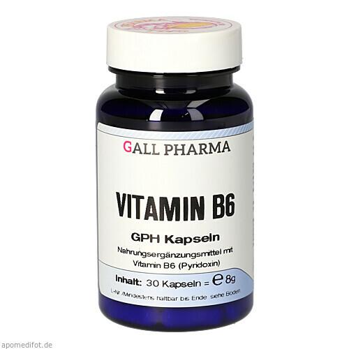VITAMIN B6 GPH 2.0mg, 30 ST, Hecht-Pharma GmbH