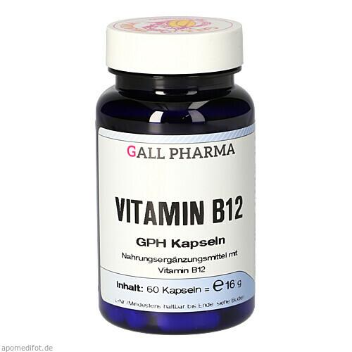 VITAMIN B12 3ug GPH, 60 ST, Hecht-Pharma GmbH