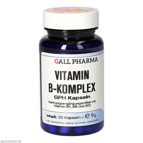 VITAMIN B-KOMPLEX GPH, 30 ST, Hecht-Pharma GmbH