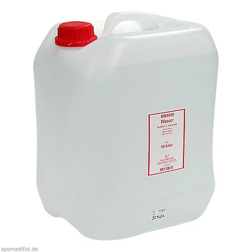 Destilliertes Wasser, 10 L, C + V Pharma Depot GmbH