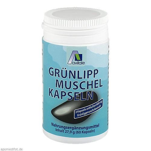 Grünlipp Muschel Vegi Kaps, 60 ST, Avitale GmbH