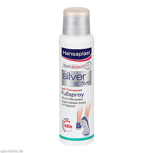 Hansaplast Silver Active Fuß Spray, 150 ML, Beiersdorf AG