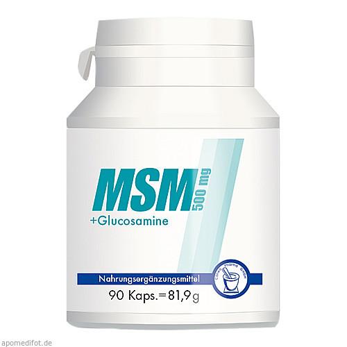 MSM 500mg + Glucosamine, 90 ST, Pharma Peter GmbH