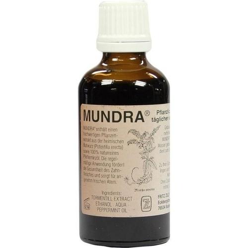 MUNDRA Pflanzliches Mundpflegeprodukt, 50 ML, Fritz Zilly GmbH