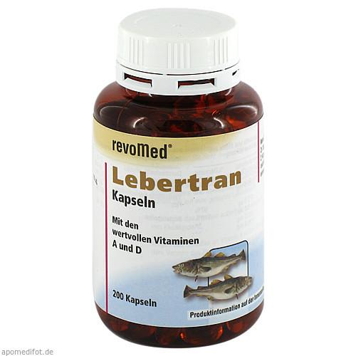 Lebertran Kapseln 500mg, 200 ST, Allpharm Vertriebs GmbH