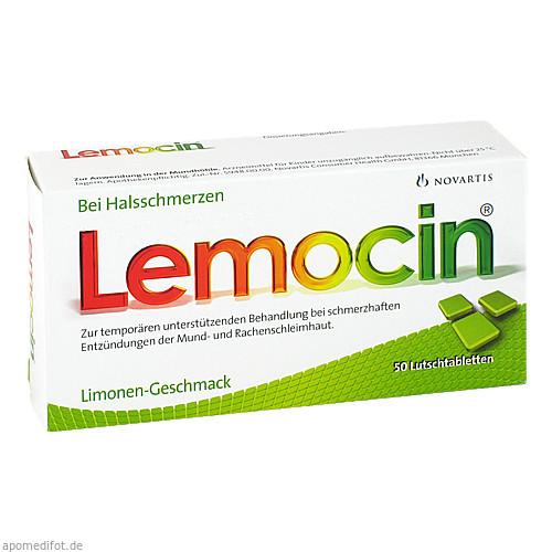 LEMOCIN Lutschtabletten, 50 ST, GlaxoSmithKline Consumer Healthcare