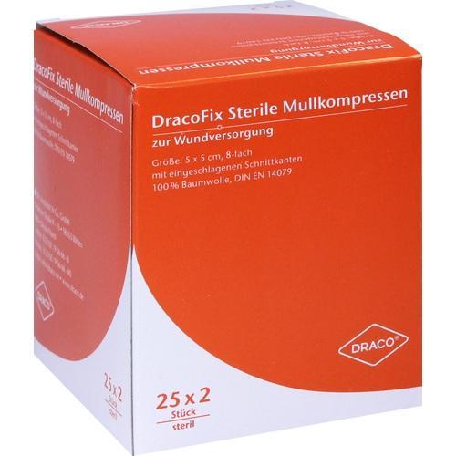 DRACOFIX PEEL KOM steril 5X5 8fach, 25X2 ST, Dr. Ausbüttel & Co. GmbH