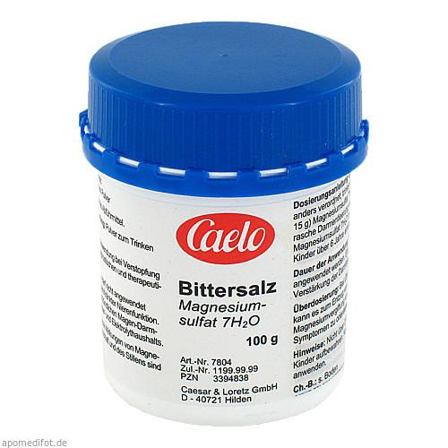 Bittersalz Caelo HV-Packung, 100 G, Caesar & Loretz GmbH