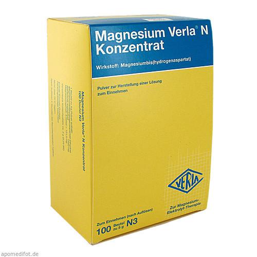 MAGNESIUM VERLA N KONZENTRAT, 100 ST, Verla-Pharm Arzneimittel GmbH & Co. KG