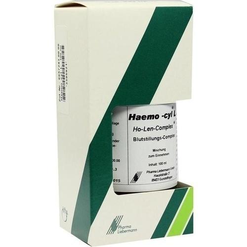 Haemo-cyl L Ho-Len-Complex Blutstillungs-Complex, 100 ML, Pharma Liebermann GmbH