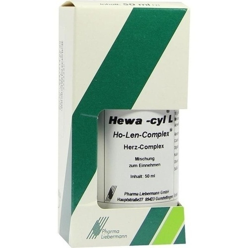 Hewa-cyl L Ho-Len-Complex Herz-Complex, 50 ML, Pharma Liebermann GmbH