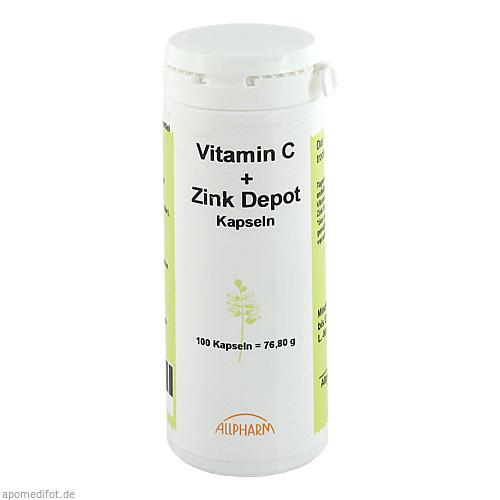 Vitamin C + Zink Depot, 100 ST, Allpharm Vertriebs GmbH