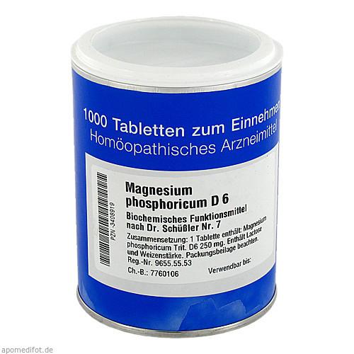 BIOCHEMIE 7 MAGN PHOS D 6, 1000 ST, Iso-Arzneimittel GmbH & Co. KG