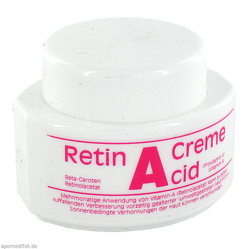 RETIN A CID CREMETIEGEL, 50 ML, Isar Pharm Austria Vertriebsges.Mbh