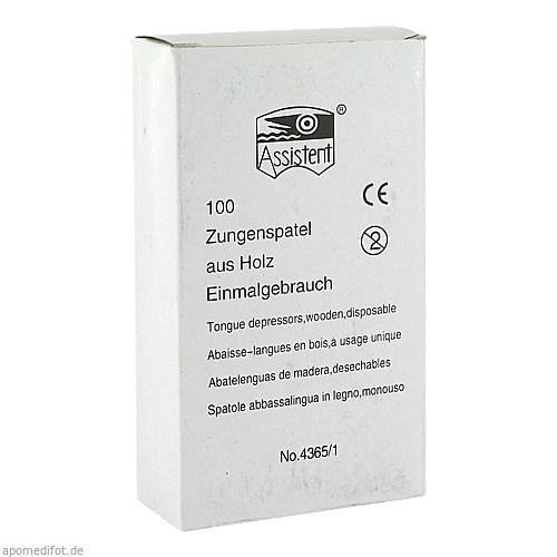 Holzmundspatel, 100 ST, SERIMED GmbH & Co.KG