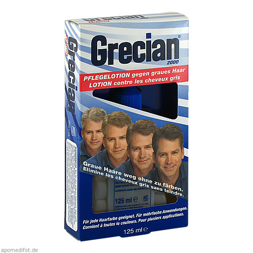 Grecian 2000 Pflegelotion gegen graues Haar, 125 ML, Pharma Netzwerk Pnw GmbH