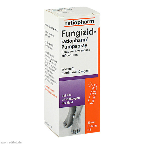 FUNGIZID RATIOPHARM PUMPSP, 40 ML, ratiopharm GmbH
