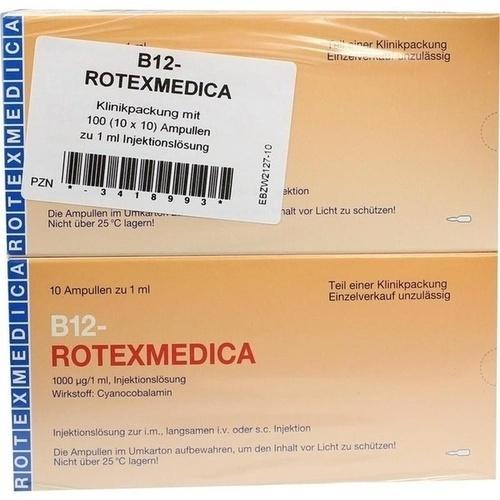 B12 ROTEXMEDICA, 100X1 ML, Rotexmedica GmbH Arzneimittelwerk