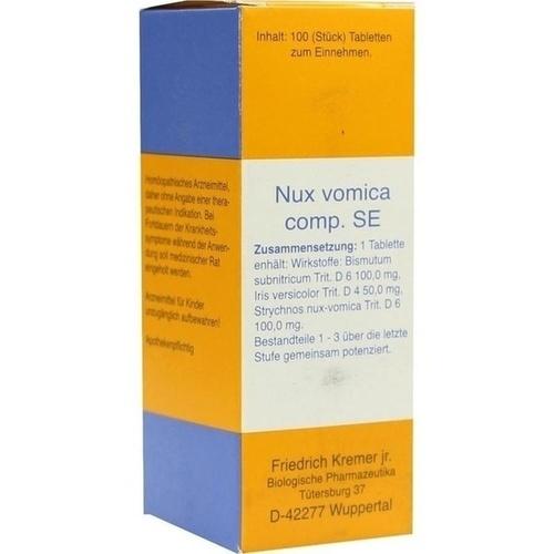NUX VOMICA COMP.SE Tabletten, 100 ST, Firma Kremer GmbH & Co. KG