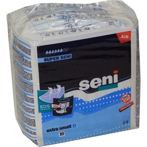 Super Seni Extra Small Windelhose, 10 ST, Tzmo Deutschland GmbH
