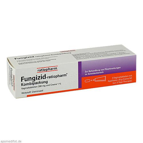 Fungizid-ratiopharm Kombipackung, 1 P, ratiopharm GmbH