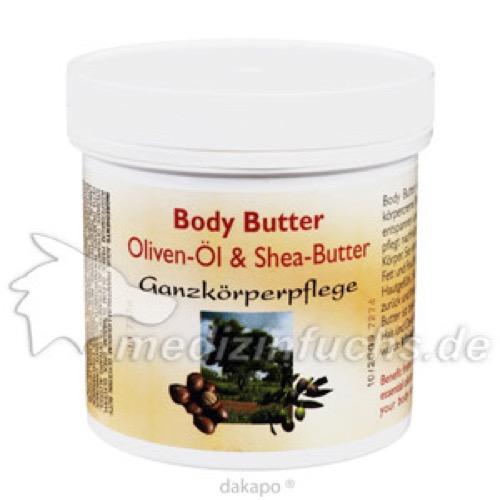 Oliven-Öl & Shea-Butter-Creme, 250 ML, Weko-Pharma GmbH