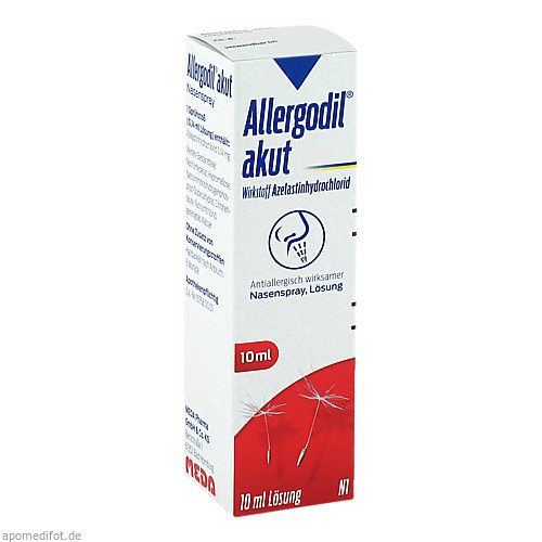 Allergodil akut Nasenspray, 10 ML, Meda Pharma GmbH & Co. KG