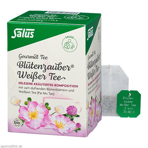 Weißer Tee Blütenzauber bio Salus, 15 ST, Salus Pharma GmbH